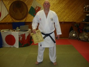 2nd Dan Nidan:- Jason Hayward