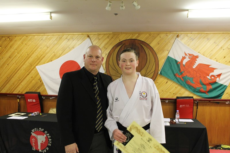 1st Dan Black Belt :- Robert Potter