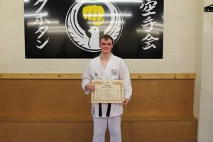 2nd Dan Black Belt Ioan Evans