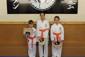 Orange Belts,Mali Walters,Efa Walters, Ashton Whitby