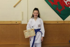 Blue Belt - Ffion Jenkins