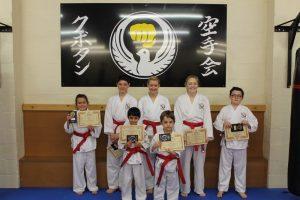 Kubotan Karate Grading December 2017
