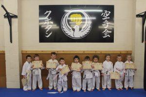 Kubotan Karate - KarateKIDZ - Kyle, Alfie, Isaac, Mason Carlisle, Marty, Jack, Mason Quick, Phoebe, Catrin, Cai