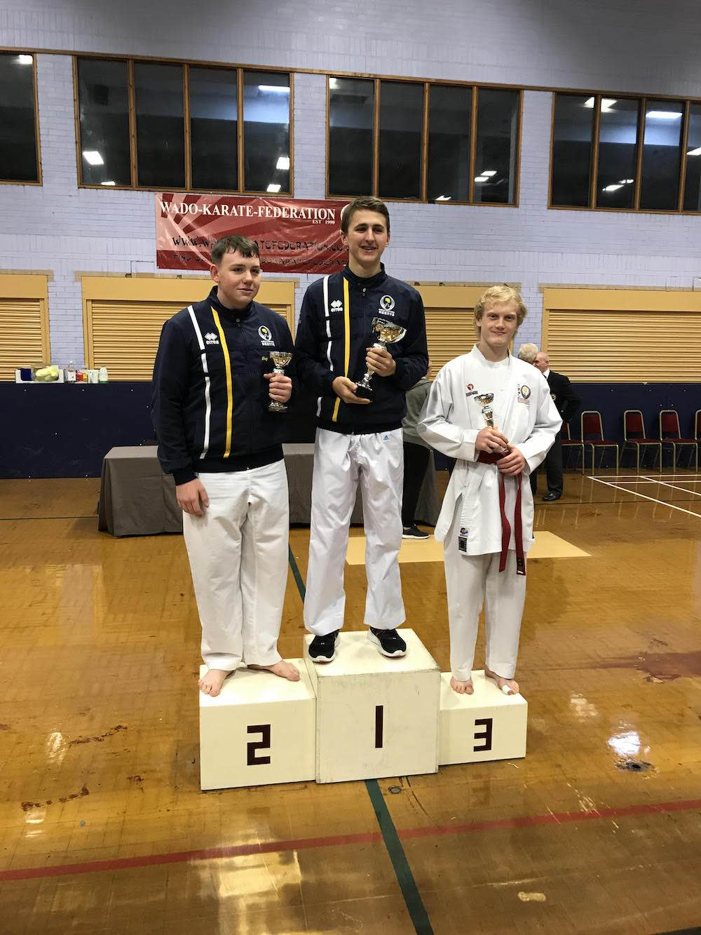 Wado Karate Federation Sunday 19th November 2017 Andrew Collins Under 18 Bronze Andrew Yorath Senior Male Openweight Bronze Andrew Collins Kubotan Karate Swansea