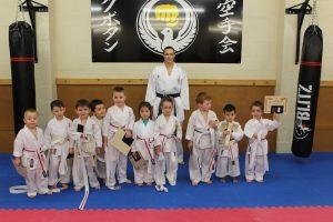 Kubotan Karate - Swansea Karate - KarateKIDZ - Jack, Mason, Isaac, Ifan, Alfie, Joshua, Tomos, Steffan,Rosie and Tillie-Ann