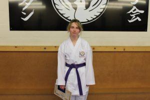 Kubotan Karate - Swansea Karate - Purple Belt - Mia Antoniazzi