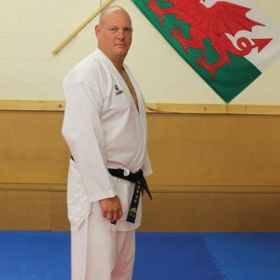 Jason Hayward Chief Instructor Kubotan Karate