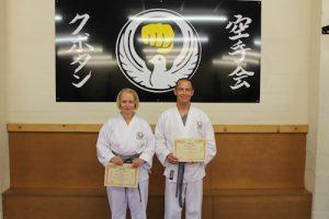 Kubotan Karate Grey Belts - Julie Stuart, Benjamin Fergus-Grey