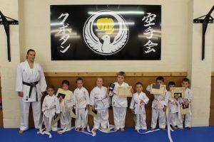 Kubotan Karate Karate KIDZ- Alice, Logan, James, Jacob, Lara, Tillie-Ann, Rosie, Alfie, Ifan, Isaac, Mason