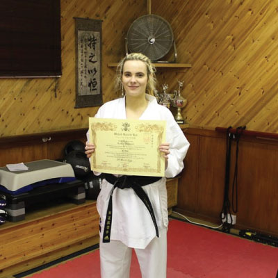 Lauren Hayward Instructor Kubotan Karate