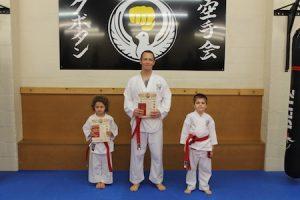 3 Red belts kubotan karate 2018