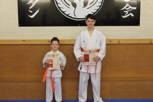 5 Orange Belts Kubotan Karate