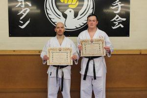 9 2nd Dan kubotan karate 2018