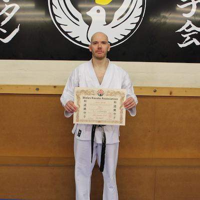 Andrew Yorath Kubotan Karate Kai