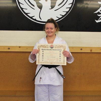 Kubotan Karate Kai Emma Evans