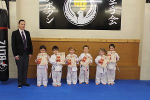 Karate Kids Thea, Lilly, Sarah, Logan, Tillie-Ann, Ifan