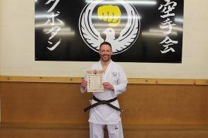 3rd Kyu Brown Belt Simon Williams