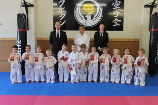Karate Kids Trystan,William,Noah,Evie,Matilda,Samuel,Thea,Lilly,Sarah,Lara,Logan,Ifan