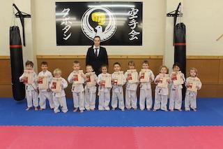 1 KarateKids Haydn,Abigail,Giadi,Zaccaria,Trystan,Evie,Noah,William,Sam,Thea,Sarah,Logan