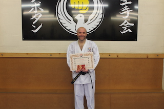 10 2nd Dan Black Belt Mark Whitby