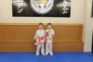 5 Orange Belts Jack McKinnon, Jac Coffey
