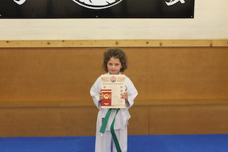 6 Green Belt Catrin Richards