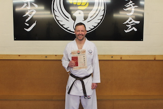 8 2nd Kyu Brown Belt Simon Williams