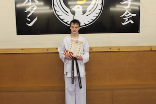 9 1st Kyu Brown Belt James Collins